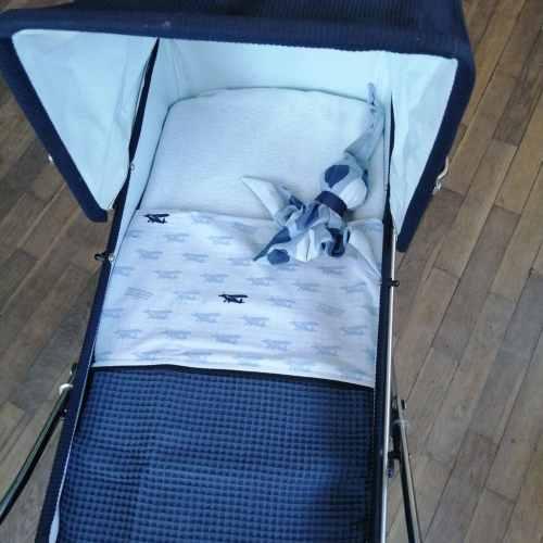 baby, babydeken, babykamer, babyproducten, handgemaakt, katoen, kinderwagen, kinderwagendeken, klein-draakje, wafel, zelf samenstellen