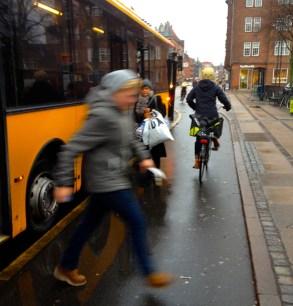 bus fietspad