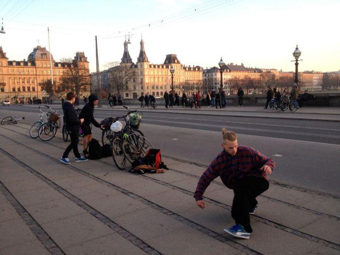 skaters bikers kopenhagen
