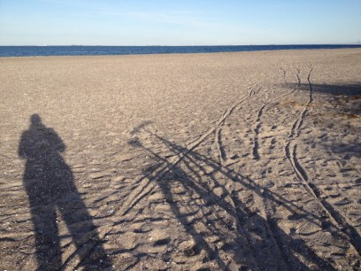 fiets amager strand