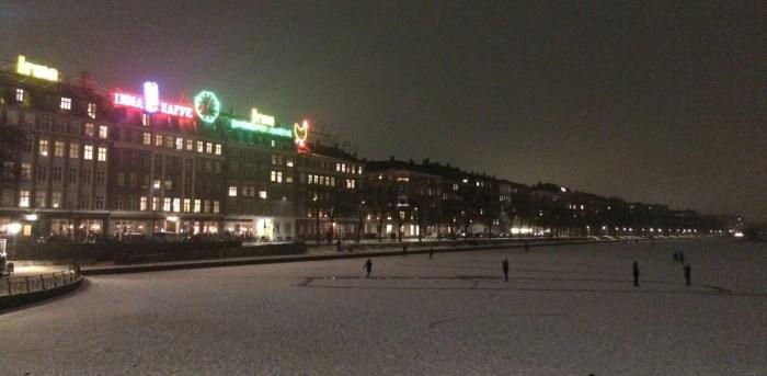 ijs nacht kopenhagen