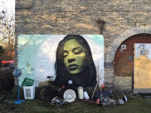 muurtje in Christiania