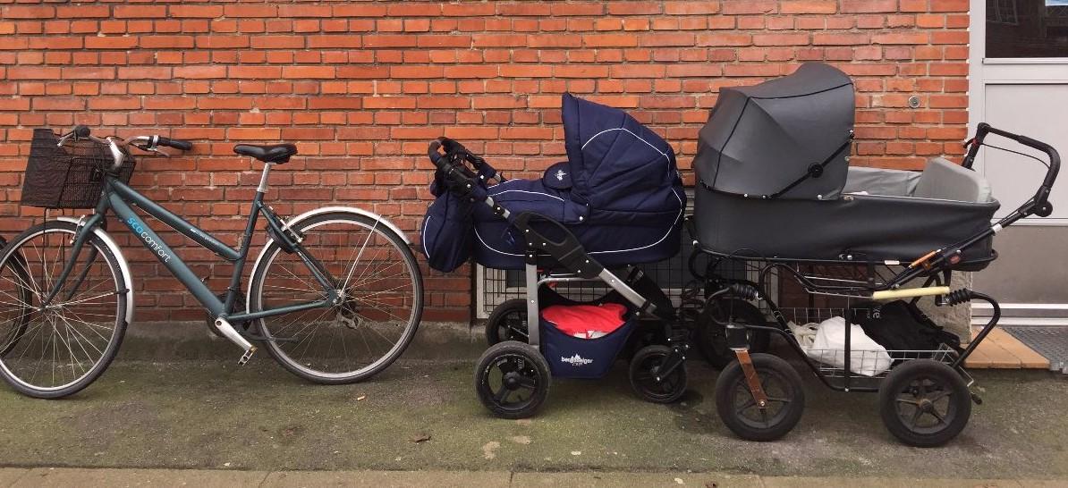 Een lesje hogere Deense kinderwagenkunde