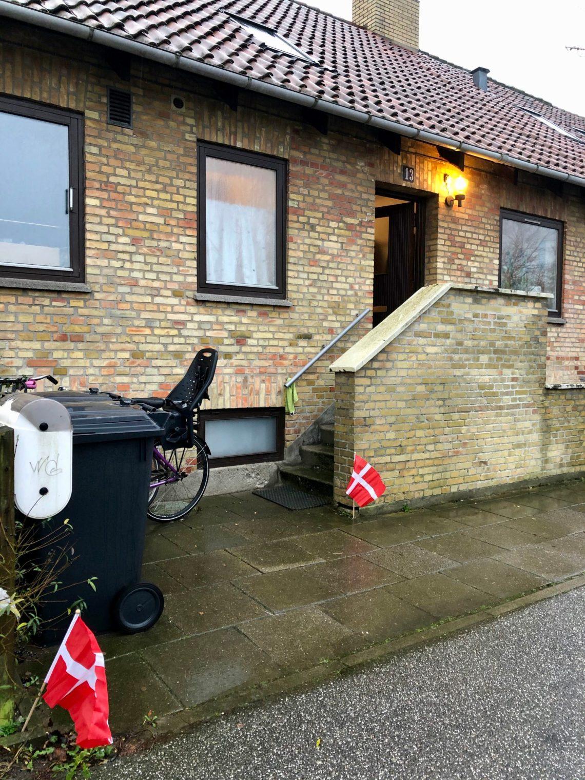 deense vlaggen voor het huis