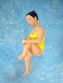 Berta 2011 Pappmachéfigur