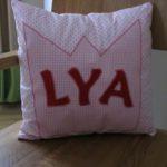 Ein Kissen für Lya