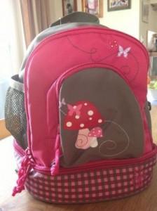 Ein Rucksack für den Kindergarten