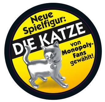 00009398 Monopoly Classic Sticker wg Katze