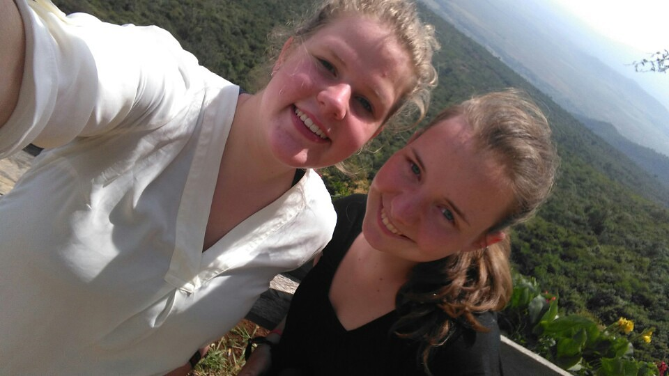 Selfie op de Great Rift Valley 2016