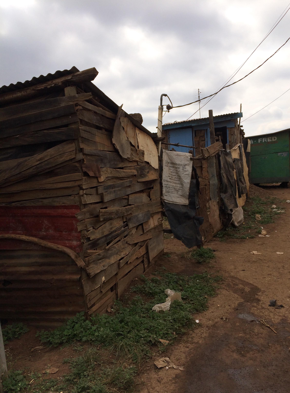 De ''huisjes'' in de sloppenwijken 2017