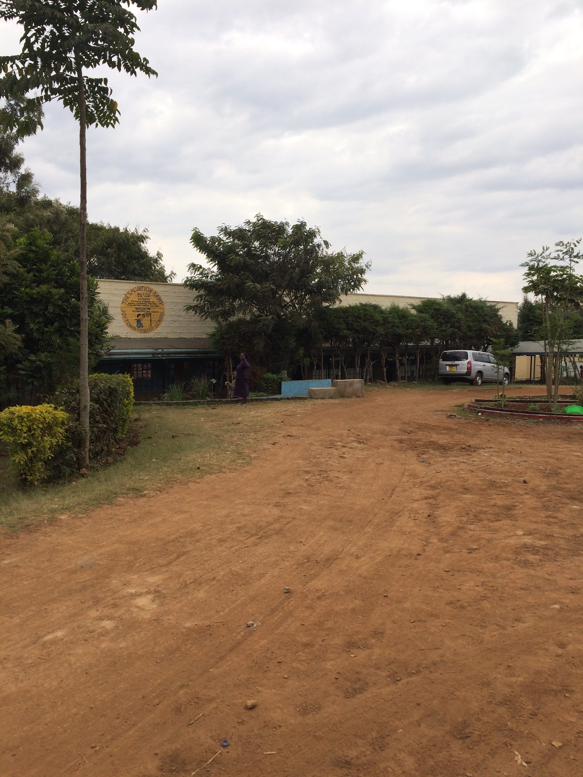 Gehandicapte school in Thika 2016