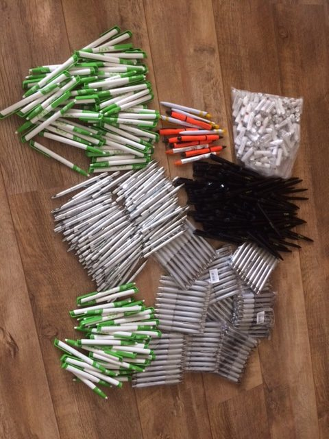 Gesponsorde pennen van de pennenwinkel 2017
