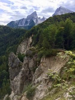 Blick auf den Watzmann - unterhalb des Grünsteins   Copyright: Anja Heuer