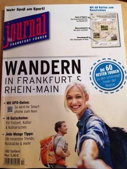 "Magazin ""Wandern in Frankfurt & Rhein-Main"" |Copyright: Anja Heuer"