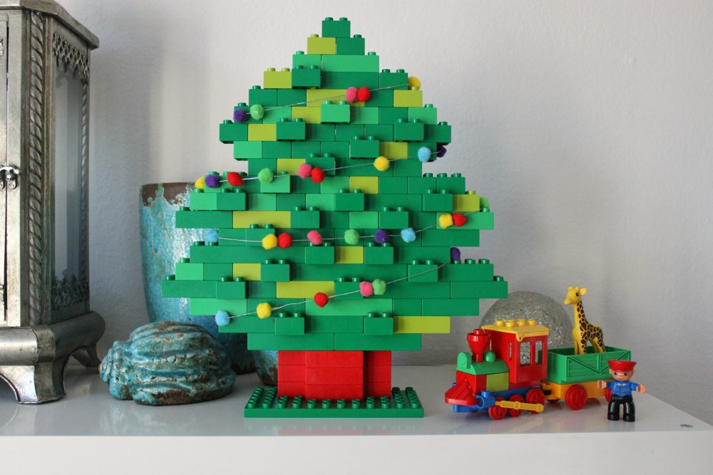 Kerstboom van Duplo
