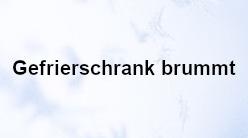 Gefrierschrank brummt 248 x 138
