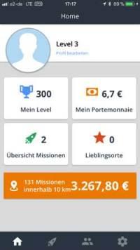 BeMyEye-Start  Microjobbing –  €463,10 in 22,5 Stunden BeMyEye Start 200x356