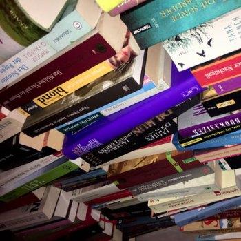 Buecher-Stapel2  Mit alten Büchern die Rente finanzieren – Teil 1 Buecher Stapel2 350x350