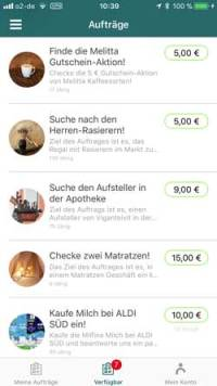 ShopScout-Liste  Microjobbing –  €463,10 in 22,5 Stunden ShopScout Liste 200x356