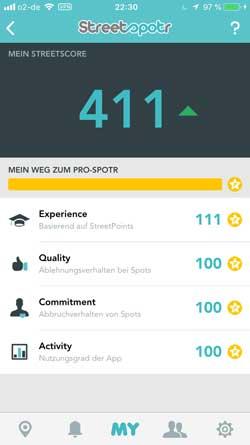 Streetspotr-Pro  Microjobbing –  €463,10 in 22,5 Stunden Streetspotr Pro
