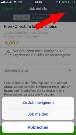 appJobber-Navi  Microjobbing –  €463,10 in 22,5 Stunden appJobber Navi