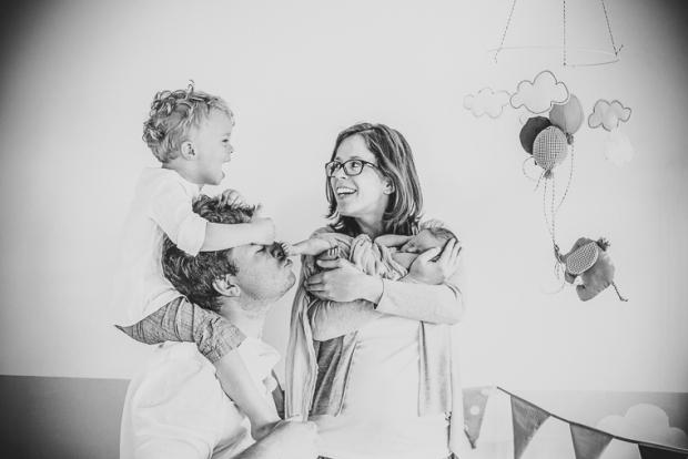 Babybauch- und Neugeborenenfotos zu Hause // Veröffentlichung auf Mummy & Mini