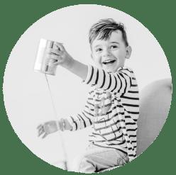 Kinderfotografin Kleinernordfuchs