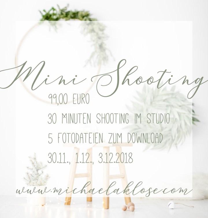 Mini Shootings zu Weihnachten