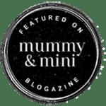 Featured bei Mummy and Mini Veröffentlichung