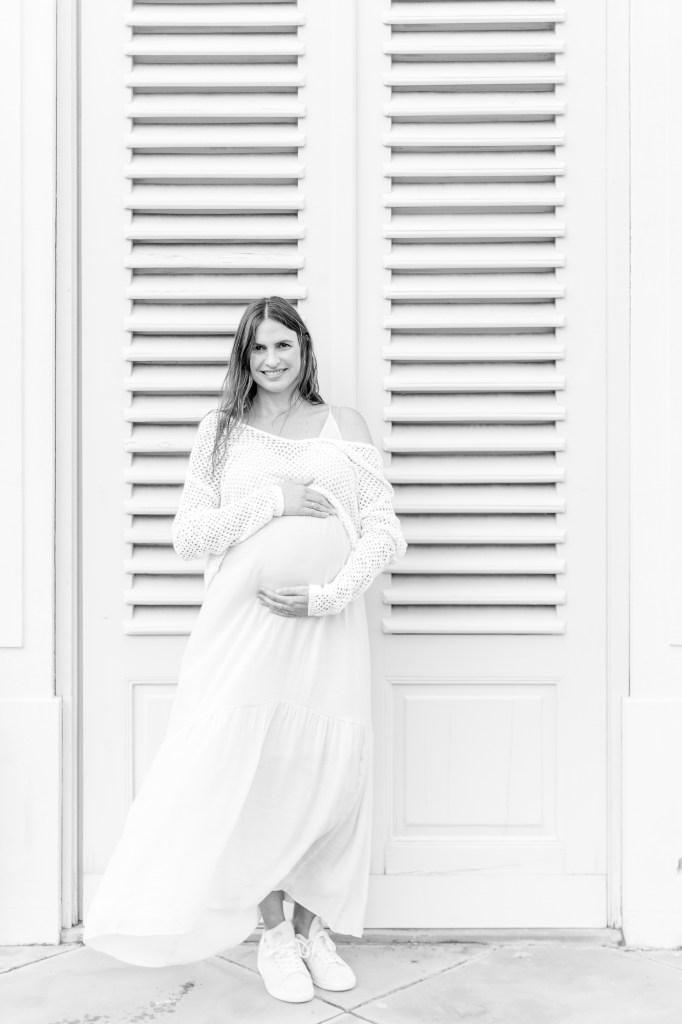 Babybauchfotos Schloss Solitude Schwangerschaftsfotos