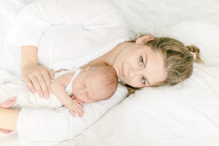 Mama und Baby Newbornshooting