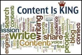 Content is King art