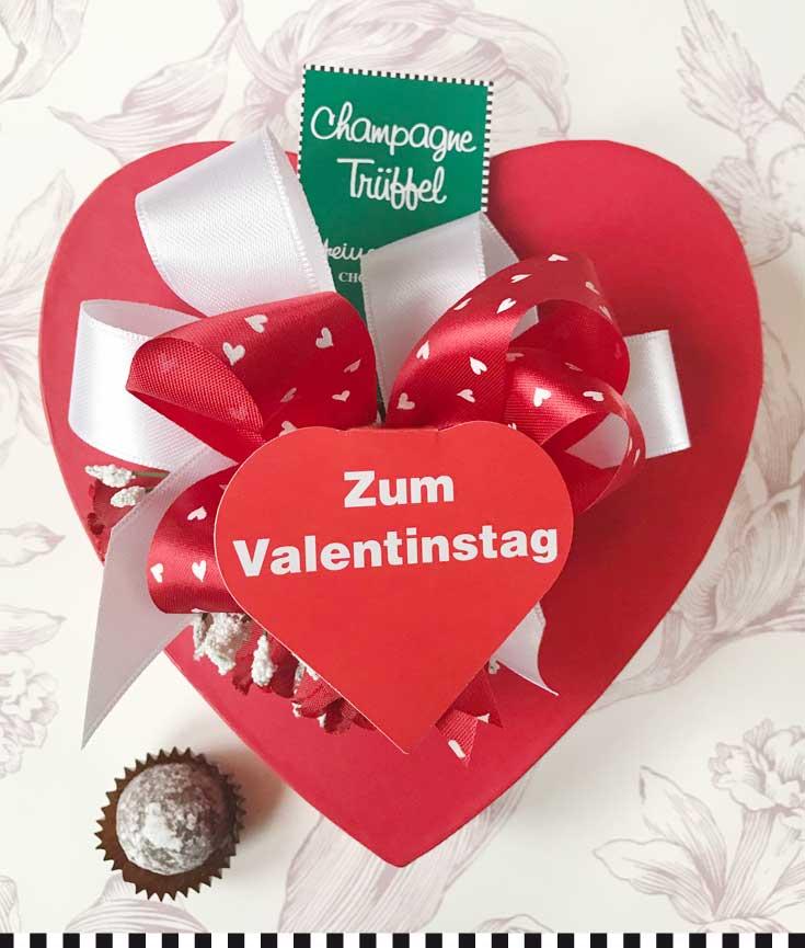 Valentinsherz der Konditorei Heinemann