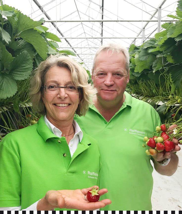 Familie Janssen, Erdbeerzüchter