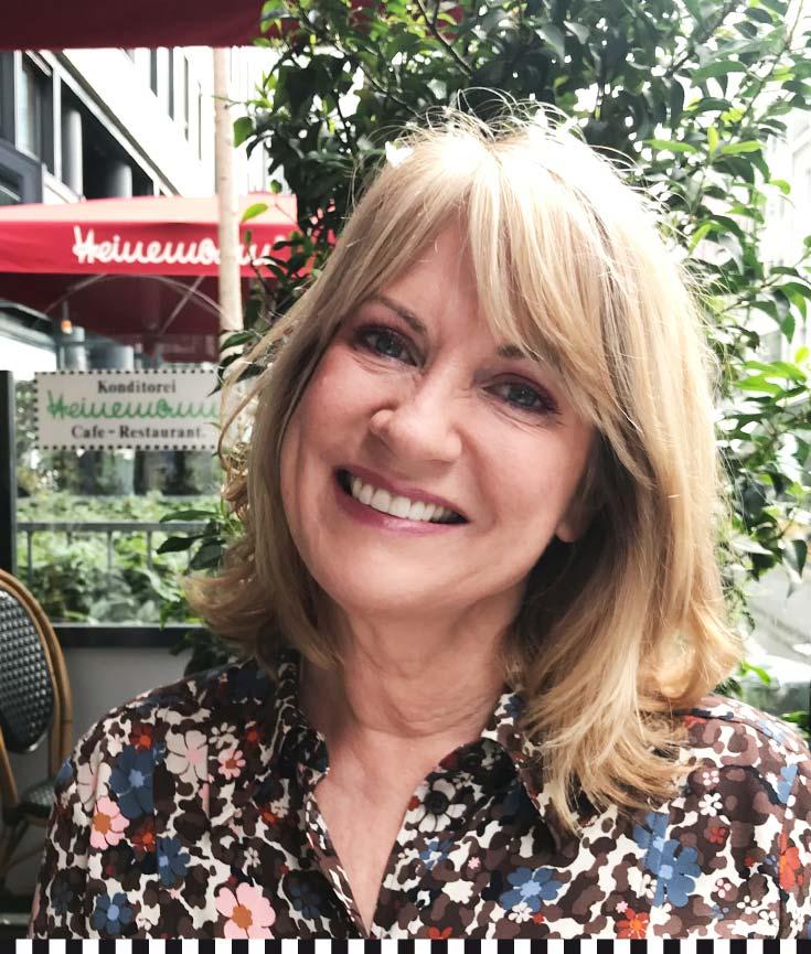 Fokussiert auf das Positive: Petra Albrecht weiß das Leben zu genießen