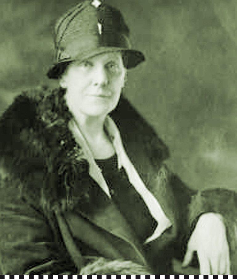 Willensstarke Kämpferin : die amerikanische Muttertags-Erfinderin Anna Jarvis (©Olairian/Wikipedia)