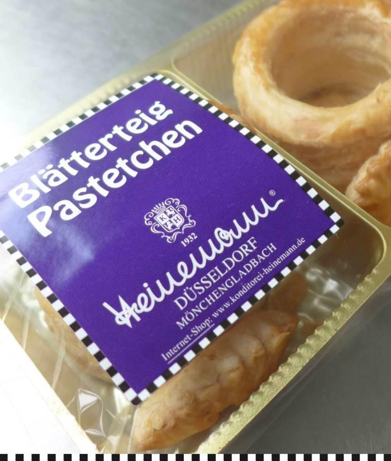 Blätterteig-Pastetchen von Heinemann