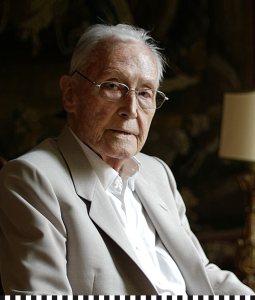 Portrait Franz Josef Fieger 100 Jahre