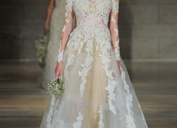 d6409ae11702 Wedding Gown With Lace Sleeves | Pippa Middleton Ivory Lace High ...