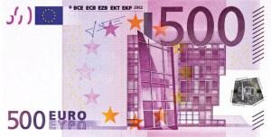 Goodbye 500-Euro-Schein
