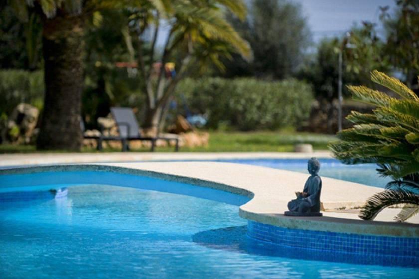 Finca Sa Tanca Pool Relaxing