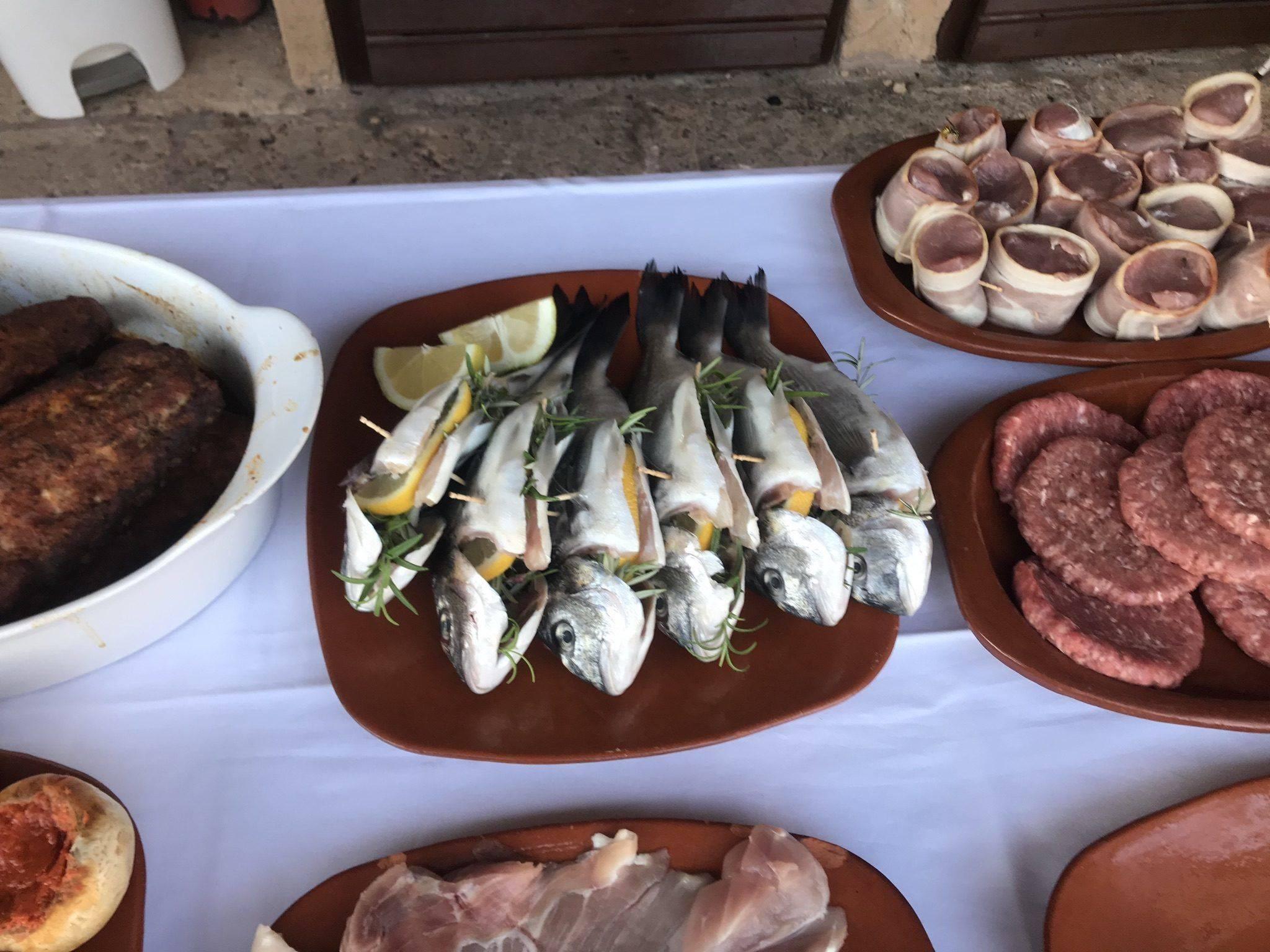 frischer Fisch zum BBQ Abend