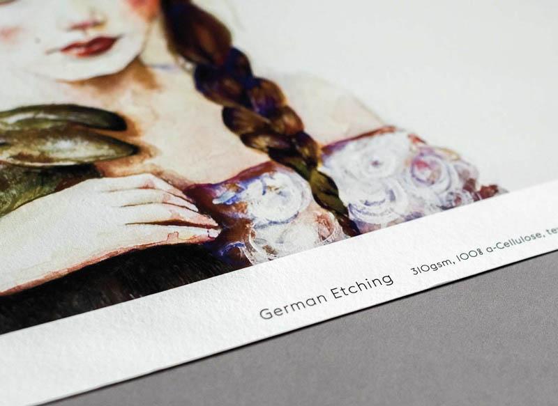 Hahnemühle German Etching Giclée Paper