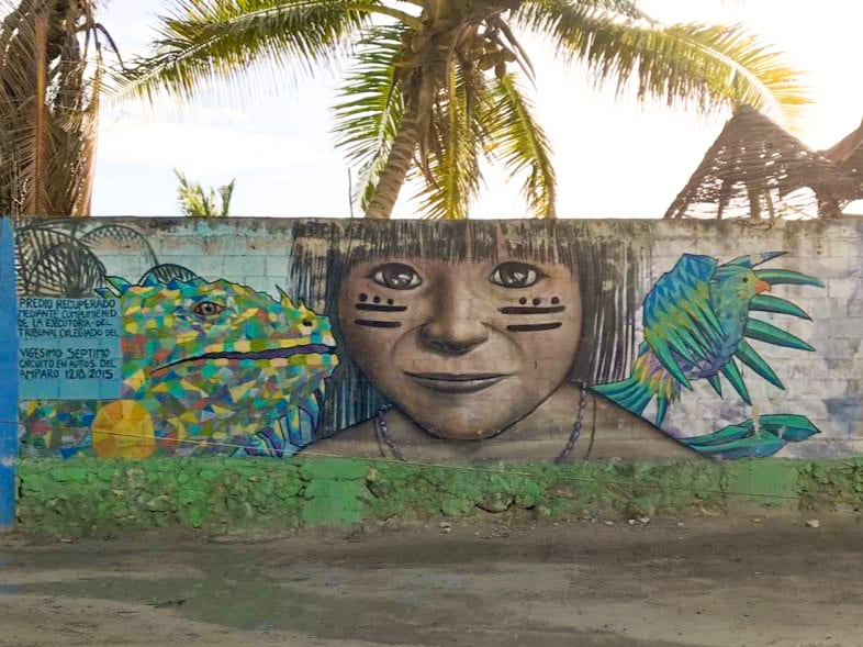 Yucatan Rundreise Highlights Tulum street art