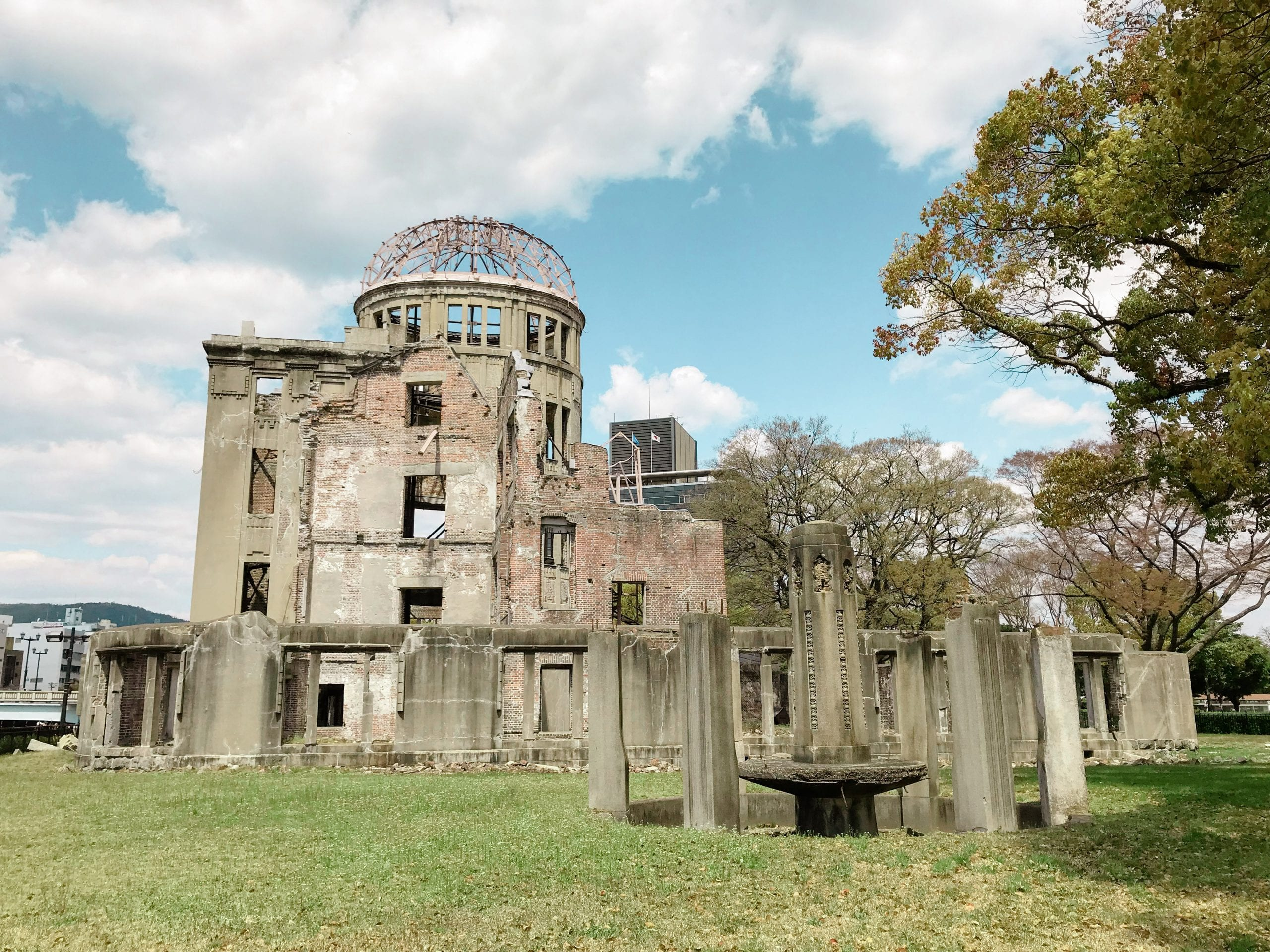 Japan Rundreise Reiseroute Highlights hiroshima atombombenkuppel