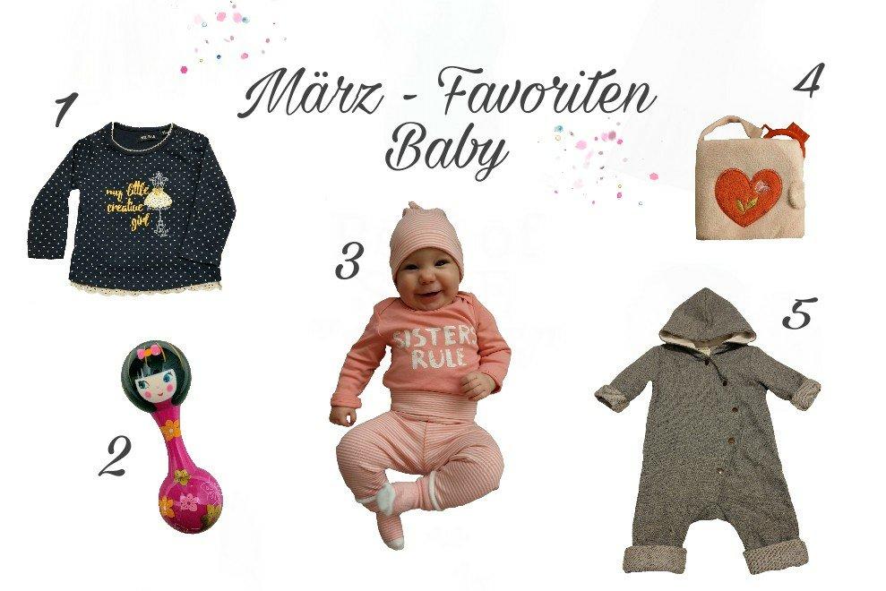Lieblingsteile im März – Favoriten für das Babymädchen