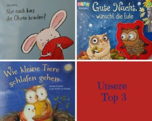 Kinderbücher zum Einschlafen – unsere Top 3