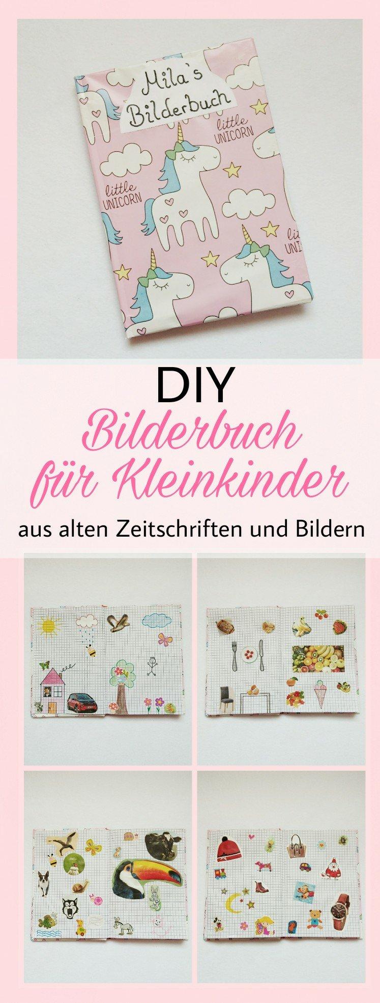 Eine Tolle Kreative DIY Idee. Ein Bilderbuch Oder Lernbuch Für Kleinkinder  Und Babys Selber Basteln
