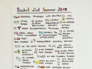 Read more about the article Bucket List für den Sommer – 50 Dinge die wir diesen Sommer machen wollen