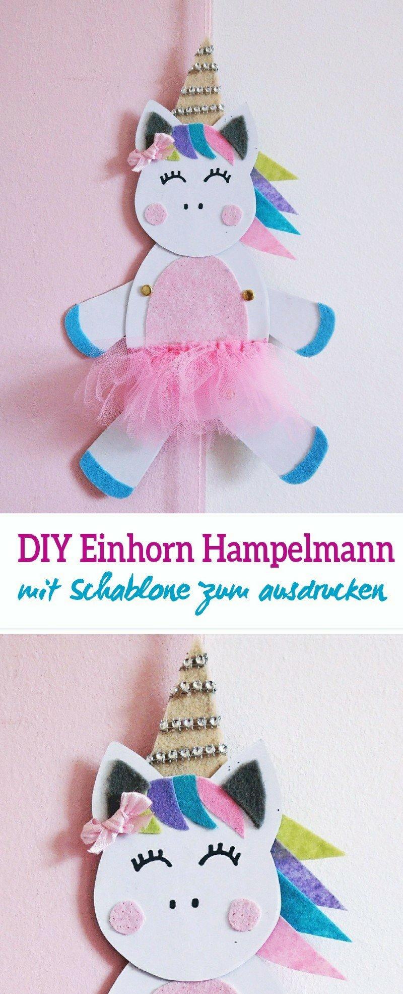 Hier zeige ich euch Schritt für Schritt wie ihr einen DIY Einhorn Hampelmann basteln könnt. Mit Schablone zum ausdrucken (Freebie) Tolle Beschäftigungsidee für den Kindergeburtstag oder den nächsten verregneten Nachmittag.
